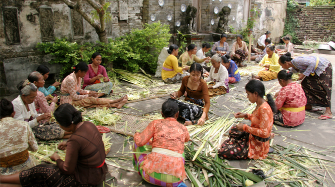 bali local community