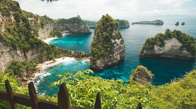 beautiful nusa penida bali indonesia