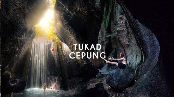 tukad cepung waterfall